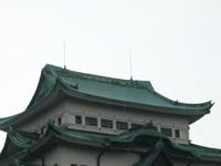 金シャチがいない名古屋城