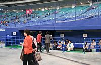 ナゴヤドーム一塁側ベンチ