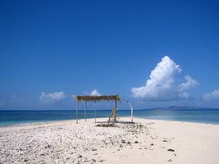 フィジー トレジャーアイランド近くの無人島